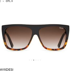 "Quay ""On the low 2"" sunglasses"